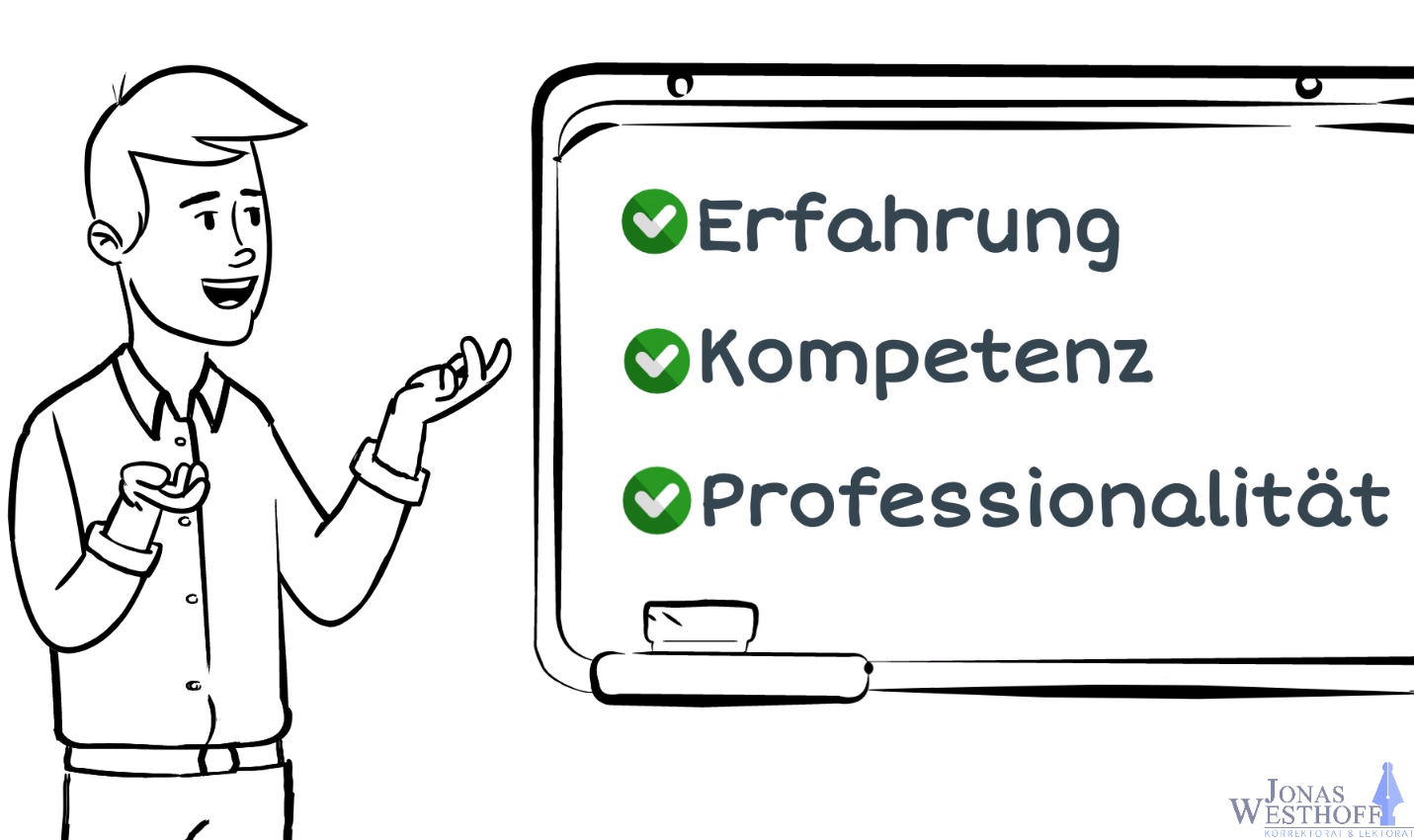 Vorteile von Korrektorat und Lektorat Jonas Westhoff