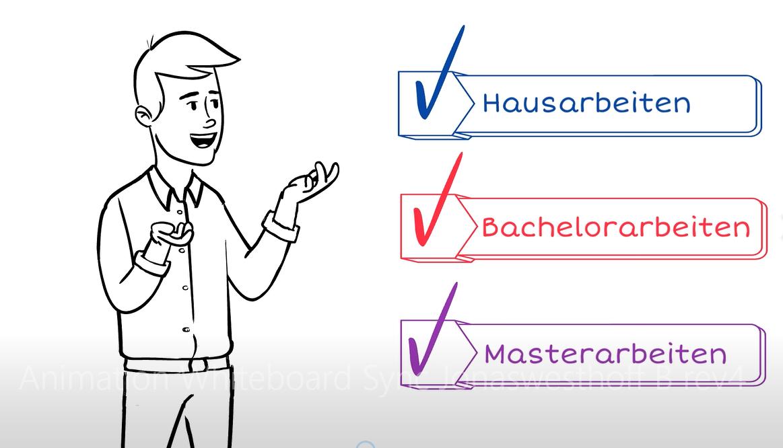 Lektorat und Korrektorat von Bachelorarbeit, Masterarbeit, Hausarbeit